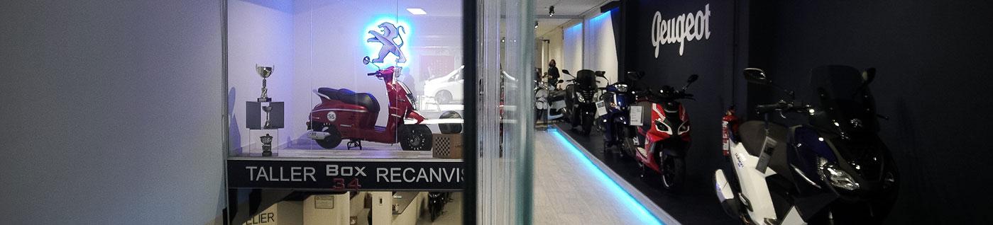 motocicletas concesionario box 34 barcelona