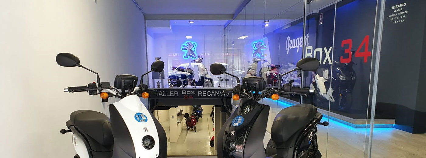 Concesionario de motos - Concesionario de motos Peugeot